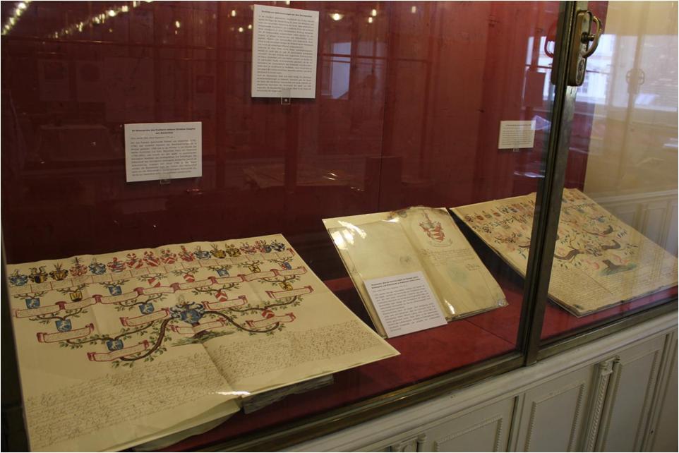 """Ausstellung """"Rechtsquellen"""" im Haus-, Hof- und Staatsarchiv"""
